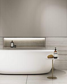 "TOL'KO / ""CAPPUCCINO"" Archive project 2019 on Behance Home Room Design, Bathroom Interior Design, Interior Decorating, Toilet Design, Bath Design, Apartment Projects, Modern Bathroom, Master Bathroom Tub, Bathroom Tub Shower"
