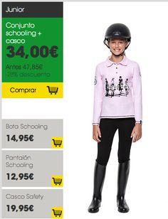 Conjunto #equitación JR #vueltaaldeporte #Decathlon