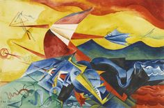 Composition, 1917. Max Ernst