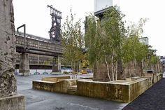 Luxembourg Steel Mill Converted Into a Public Park - by AllesWirdGut Architektur