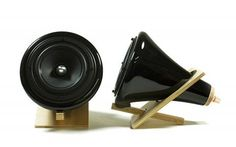 Who needs that big ol' box speakers are usually housed in? Black Ceramic Speakers now featured on Fab. Speakers For Sale, Fab Life, Black Edition, Cool Tech, Diy Electronics, Audiophile, Tech Gadgets, Back To Black, Tech Accessories