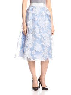 byTiMo Women's Midi Floral Skirt at MYHABIT