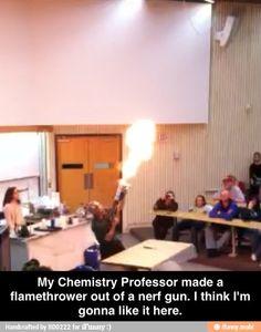 Coolest chemistry professor / iFunny :)
