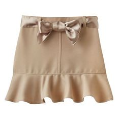 Cute take on a uniform skirt!!! Comes in navy too!