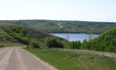 One of my favourite things is to see the first glimpse of the lake on the way down into the Qu'Appelle Valley.