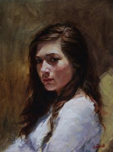 Natural Light by artist Sue Foell. #oilpainting found on the FASO Daily Art Show -- http://dailyartshow.faso.com