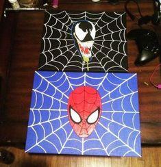 Venom and Spiderman acrylic paintings on canvas. Venom and Spiderman acrylic paintings on canvas. Painting For Kids, Diy Painting, Art For Kids, Painting Videos, Rock Painting, Kids Canvas, Canvas Wall Art, Canvas Ideas, High Level