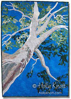 Lafayette Sycamore Tree - amazing quilt art