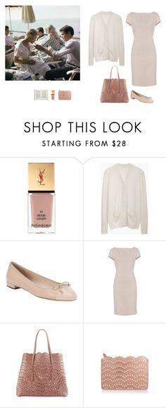 """""""Untitled #353"""" by inlateautumn ❤ liked on Polyvore featuring Yves Saint Laurent, 6397, Prada, Alaïa and Jayson Home"""