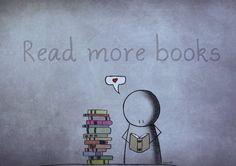 Read more books. by marii85.deviantart.com on @deviantART