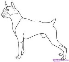 boxer dog coloring pages  Searchya  Search Results Yahoo Image