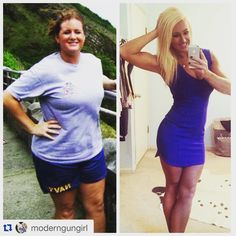 Great transformation! Read before and after fitness transformation success stories from women and men who hit weight loss goals and got THAT BODY with training and meal prep. Find inspiration, motivation, pictures and workout tips   TheWeighWeWere.com