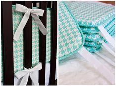 Lella Boutique: How to Make Crib Bumpers with Piping