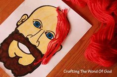 Samson's Strength This craft will bring out the creativity in your kids. Kids love reading the story of strong Samson and this craft will help them remember your lesson. Be creative with the materials you use. #ChildrensChurch #SundaySchool