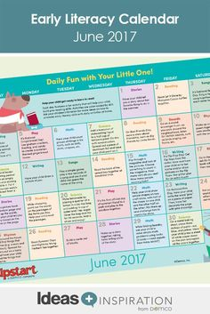 Send parents home with a myriad of creative ideas they can do with their kids to build early literacy skills all through the month of June. Free Activities, Literacy Activities, Infant Activities, Literacy Skills, Early Literacy, Before Kindergarten, Math 8, Reading Themes, Library Programs