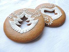 Christmas Biscuits, Christmas Sugar Cookies, Christmas Desserts, Christmas Baking, Crazy Cookies, Fun Cookies, Cupcake Cookies, Gingerbread Decorations, Christmas Gingerbread