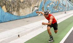 Training for an Inline Skate Marathon