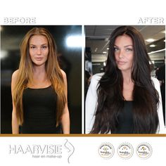 From blond to dark. Colored with olaplex Top Stylist, Latest Fashion Trends, Hair Care, Stylists, Long Hair Styles, Brunettes, Bobs, Outfits, Beauty