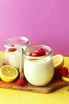 EASY CREAMY rich Vegan LEMON CURD! 5 ingredients, 1 pot, and 30 minutes required #vegan #glutenfree #lemon #lemoncurd #recipe #dessert #minimalistbaker