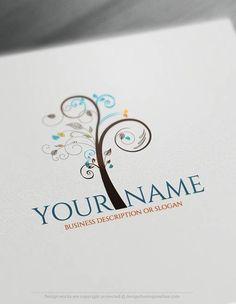 00359-Free-logo-maker-art-tree-Logo-Templates