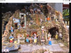 Nativity scenes in Naples Bagni di Lucca and Beyond Crib Sets, Crib Bedding Sets, Christmas In Italy, Christmas Time, Crib Makeover, Christmas Crib Ideas, Crib Wall, Lead Paint, Mini Crib