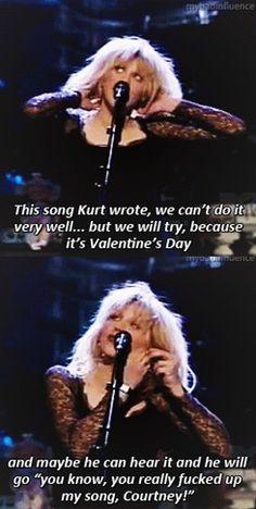 Sad and baeutiful. Courtney Love Hole, Kurt And Courtney, Celebrity Skin, Celebrity Babies, Mtv Unplugged, Nirvana Kurt Cobain, We Will Rock You, Toni Braxton, Riot Grrrl