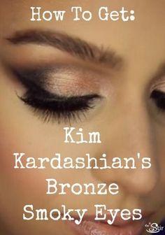 10 Tips for Getting Kim Kardashian's Gorgeous Bronze Smoky Eyes (VIDEO) | The Stir