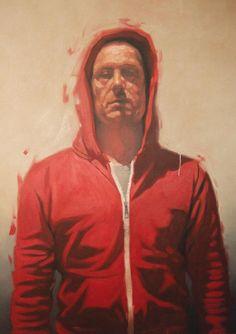 Thierry Carrier, Sans titre (code 1241) huile sur toile, 160x130 cm, 2012 ©