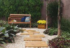 Como delimitar canteiros de jardim - Paisagismo - Plantas, Flores e Jardins