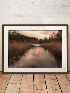 Sunset at the Sandpit in Maarn by Tim Abeln Photography and Digital Art Prints. Beautiful wall decoration for your home and office. Sunset in an area that used to be a sandpit for the Dutch railroad company. Today nature has taken over and offers some amazing sights! #photography #landscape #interiordesign #homedecor #canvas #framedart #artprints
