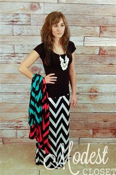 chevron skirt...i need the black and teal one!!!