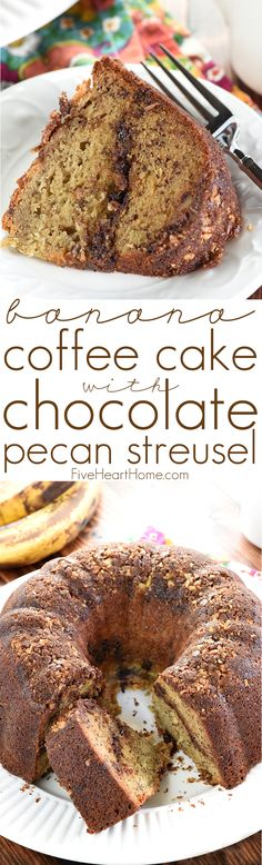 Banana Coffee Cake With Coconut Pecan Frosting Recipe ...