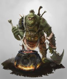 Orc Cook by Furious-Panda on deviantART