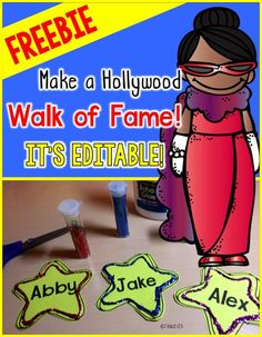 Click here to read about Hollywood themed End of Year Ideas and FREEBIE.