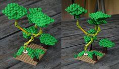 lego bonsai tree instructions