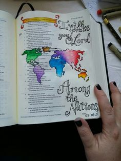 My first entry!! 3/7/15 #Illustratedfaith #biblejournaling