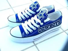 Dallas Cowboy shoes ❤ them