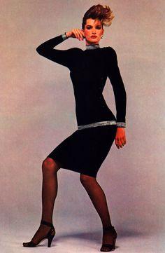 Calvin Klein, American Vogue, February 1983.