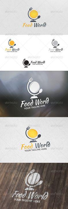 Food World - Logo Template