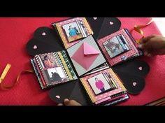 Exploding Boxcard Tutorial (Heart Base & Layering Making) - YouTube