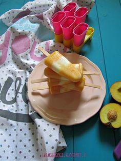 Caru's Bakery: Ghiaccioli pesca e yogurt