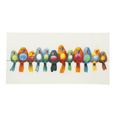 Aurelle Home 'Birds' Canvas Art Print