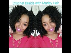 ▶ #62. How To: Crochet Braids w/ Marley Hair - YouTube