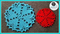 Valentines day Doily / Rug / Placemat with video tutorial by @bobwilson123