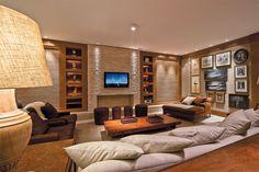 TV voltou para sala nestes oito ambientes de Casa Cor - Casa.com.br