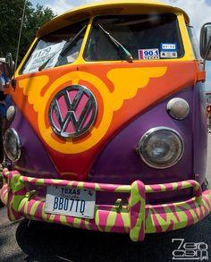 painted VW Bus VW Bus #Volkswagen ♥ #VWBus ☮ re-pinned to https://www.pinterest.com/wfpblogs/vw-bus/