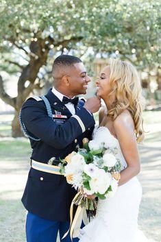 Glamorous Military Wedding in Texas – Angela Lally Photography 51