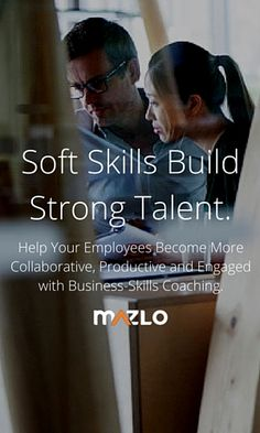 Help your employees become more collaborative, productive and engaged with 2 weeks of business-skills coaching from Mazlo. Request a demo.