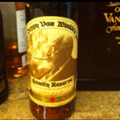 Pappy Van Winkle 23 Year Old Bourbon- if you buy this for your man, they will think you are the coolest girl ever.
