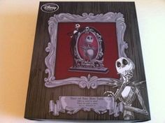 NEW DISNEY STORE THE NIGHTMARE BEFORE CHRISTMAS JACK FIGURE PICTURE PHOTO FRAME